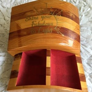 Cedar Wood Small Jewelery Box